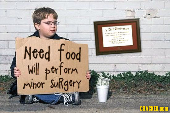 D inrorrsitr Need food will ptrform minor Surgery CRACKED.cOM