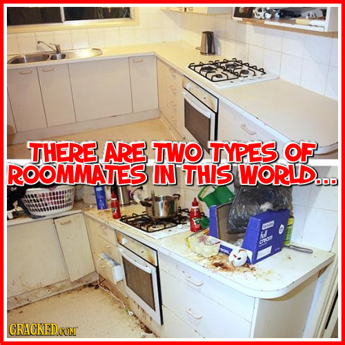 THERE ARE TWO TYPES OF ROOMMATEST IN THIS WORLD... Ora CRACKEDCONT