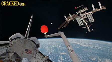 18 Sports That Are Way More Fun to Play in Space