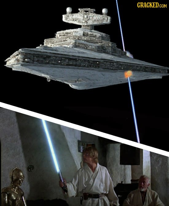 13 Movie Scenes, Revised To Obey The Laws Of Physics