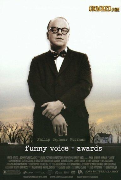 If Award Winning Movies Had Honest Titles