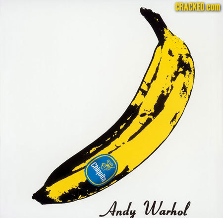 CRACKED.COM Chiquita SD Andy Warhol