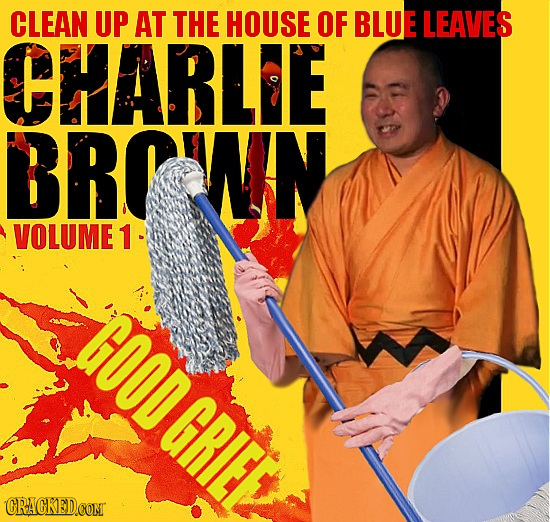 CLEAN UP AT THE HOUSE OF BLUE LEAVES CHARLE BROTIN VOLUME 1 GOODGRIEE CRACKED.COM