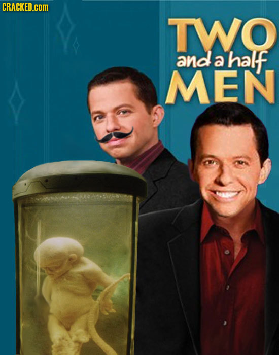 CRACKED.COM TWO and a half MEN