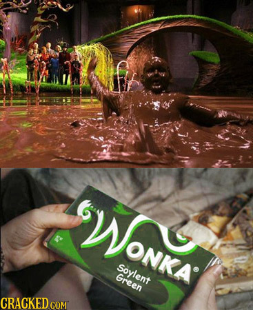 WONKA VONKA Soylent Green CRACKED COM
