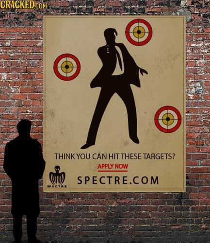 CRACKEDC COM THINK YOU CAN HIT THESE TARGETS? APPLY NOW SPECTRE.COM PETR