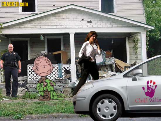 If Cartoons Were More Like The Real World