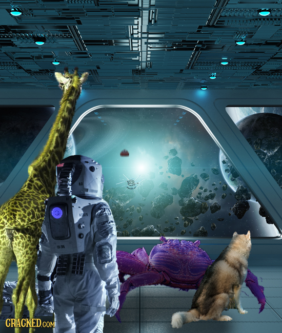 Cracked Storytime: The Trek Through The Stars Of The MOEBIUS-47