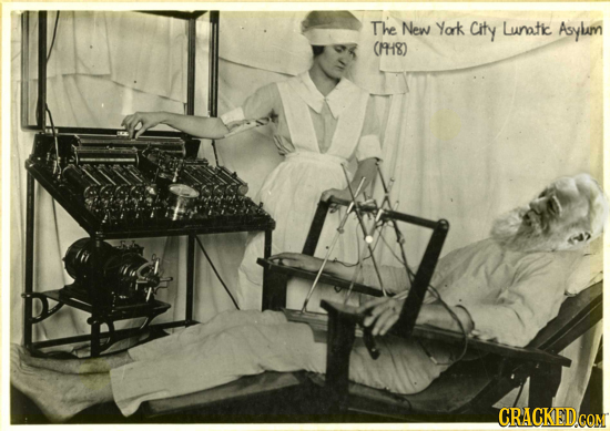 The New Yok City Lunatic Aoylm (18) CRACKED CQM