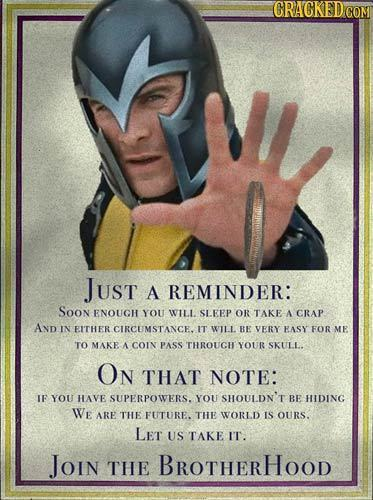 21 Recruitment Posters for Henchmen of Movie Villains