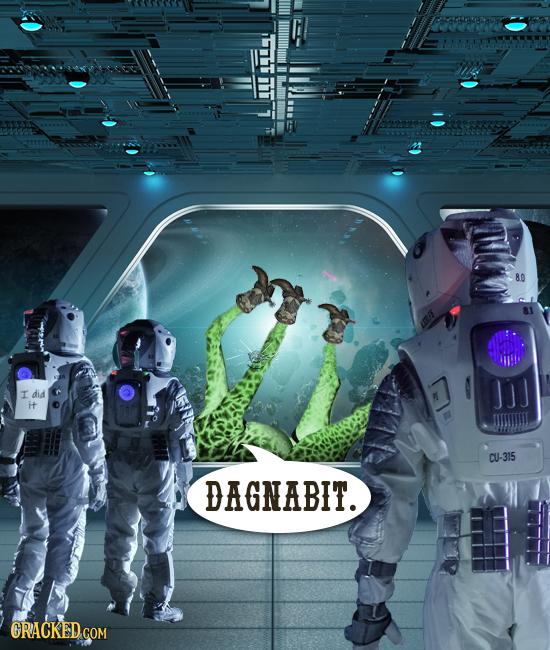 80 I did it CU-315 DAGNABIT. CRACKED COM