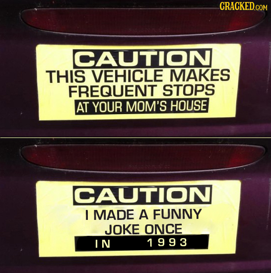 What 27 Popular Bumper Stickers Really Mean