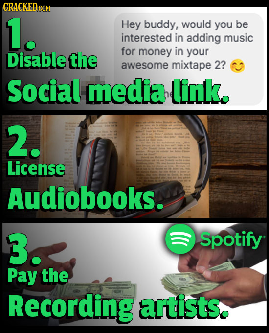 CRACKED.C COM 1. Hey buddy, would you be interested in adding music Disable the for money in your awesome mixtape 2? Social media link. 2. License Aud