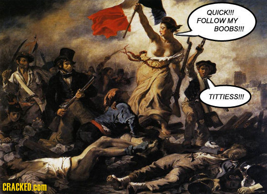 24 Famous Paintings (With The Dialogue Included)