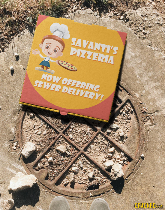 SAVANTI'S PIZZERIA NOW Sewer OFFERING delivery!