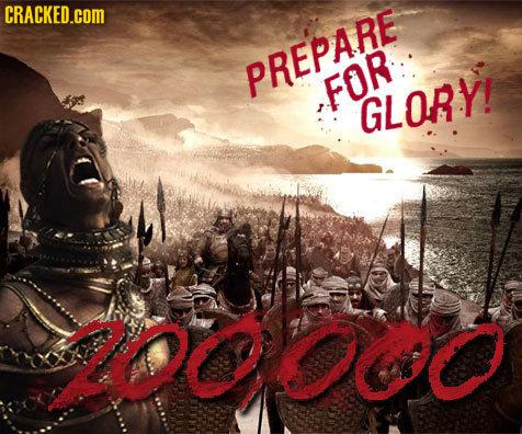 CRACKED.cOM PREPARE FOR GLORY! Owo