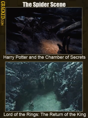 13 Identical Scenes In Different Movies And Shows