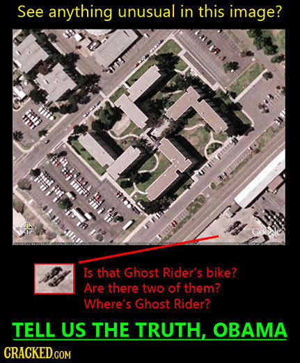 29 Conspiracy Photos Crazy People Will Be Forwarding Next