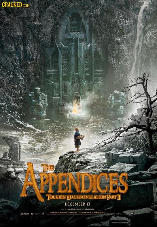 APENDICES THE PPENDICES TOLKIEN EJACKSONULATION PART II DECEMBER 13 IMAX THEHAORAIT