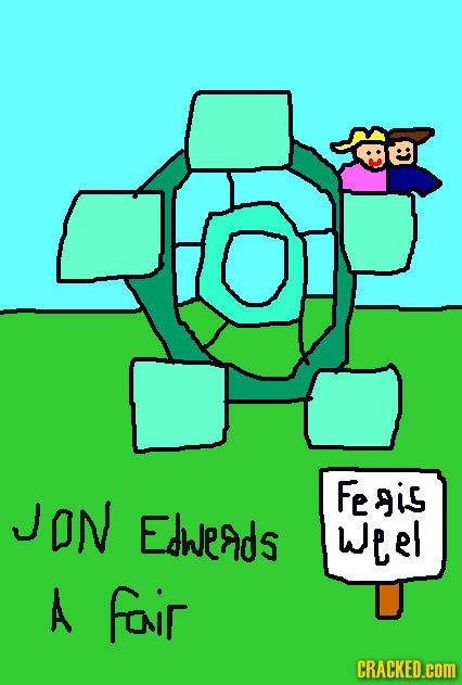 Fe gis JON ESWEAdS weel A fonir CRACKED.cOM