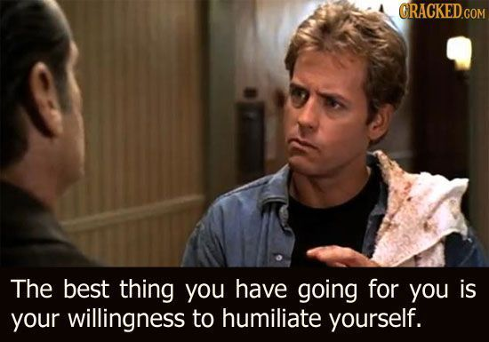The 23 Least Inspiring Quotes from Actual Movies