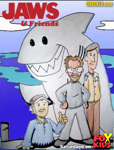 JAWS CRACKED.COI E Friends FoX KIDs Saturdays.on
