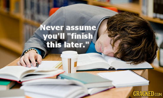 6 Words You Wish You Listened To By Any School Year's End