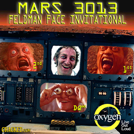 MARS 3013 FELDMAN FACE INVITATIONAL 2nd lst DO cO DQe oxygen, Live Out GRACKED.CONE Loud