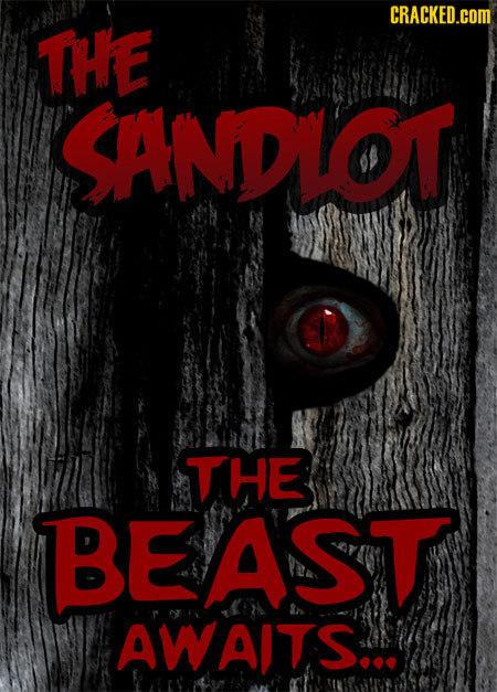 CRACKED.COM THE SANDLOT THE BEAST AWAITS...