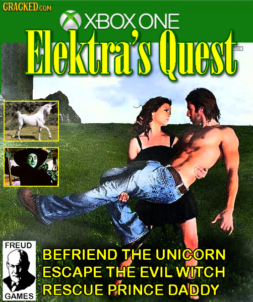 CRACKED XBOX ONE Elcktra'sQuest FREUD BEFRIEND THE UNICORN ESCAPE THE EVIL WITCH RESCUE PRINCE DADDY GAMES
