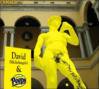 CRACKEDCONT 7 David (Michelangelo) & Peeps o
