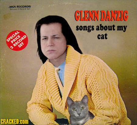 MCA RECORDS DLm Ttt At GLENN DANZIG songs about my cat SPECLAL PRICE RECORD 2 SET CRACKED.coM