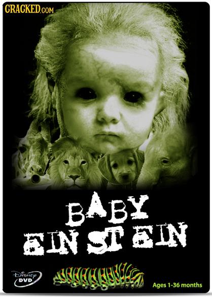 CRACKED.COM BABY B EIN CTEIN Dichey DVD Ages 1-36 months
