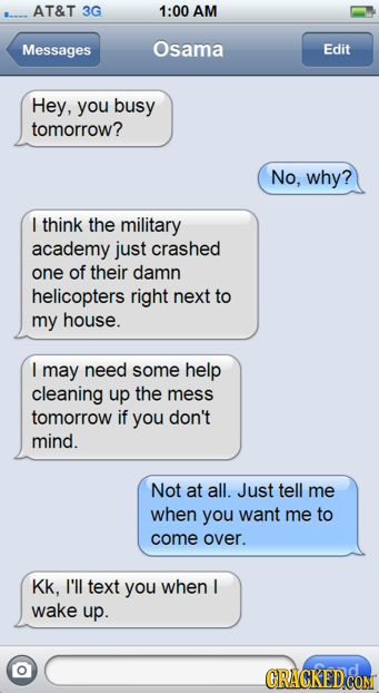16 Awkward Messages Famous People Must Have Received