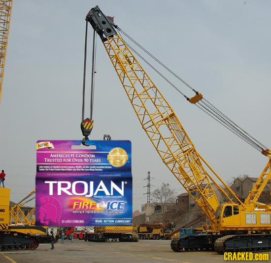 NEWT AMERICAS 1 CONDOM RCWN TRUSTED FOR OVER 90 YEARS TROJAN FIRERMICE ot ILAIE CONO BUAL ACTON UUBNCANT RIANE CRACKED.cOM