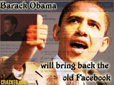 Barack Obama ah bc gout Makvddomwo >vard rk zuckerberg 1 Bith Aa 14 IGI6 metwn nab Pastathip i-Feed Dislaving 10 ston Virw More Phro n Read Norre by M