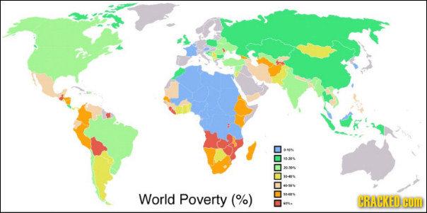 014 -385 1-405 World Poverty (%) RAHKEDCU