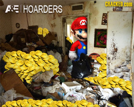 How Video Game Characters Really Use the Items They Collect