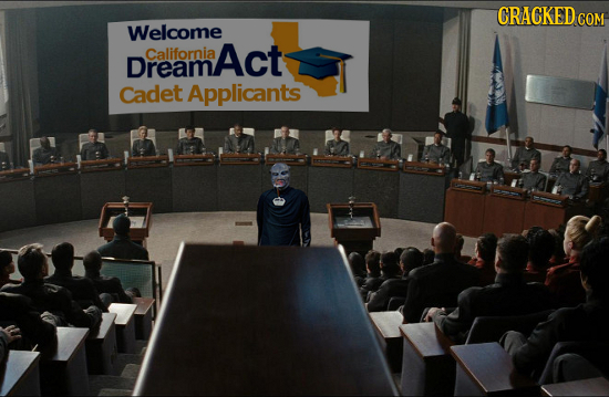 CRACKED cO COM Welcome California Act Dream Cadet Applicants