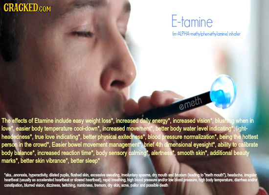 CRACKEDco COM E-tamine (m-ALPHA-methyylphenethplaminelirhaler emeth The effects of Etamine include easy weight loss' increased daily energy*, increase