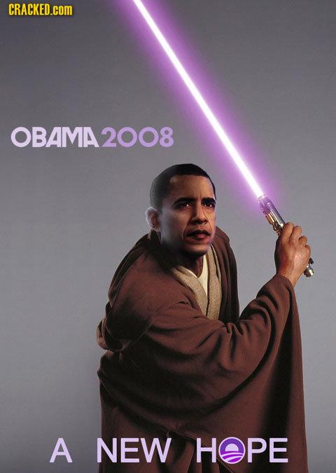 CRACKED.cOM OBAMA2008 A NEW HOPE
