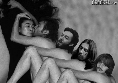 19 Famous Musicians Before They Were Photoshopped