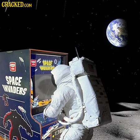 , SPACE O IMUADER SPAGE INVADERS
