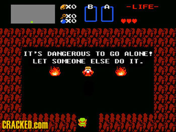 If Video Game Characters Found More Practical Solutions