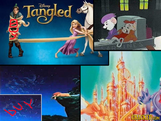 Tangled Disney aes ES D Y