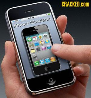 CRACKED.COM Simulator iPhone 7