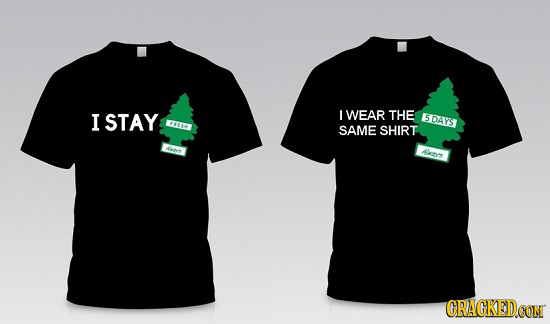 If 'Clever' T-Shirts Actually Told The Truth