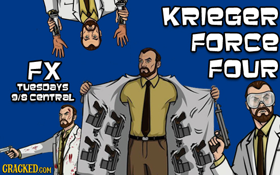KRIEGER FORCE FX FOUR TUeSDAYS 9/8 cenTral
