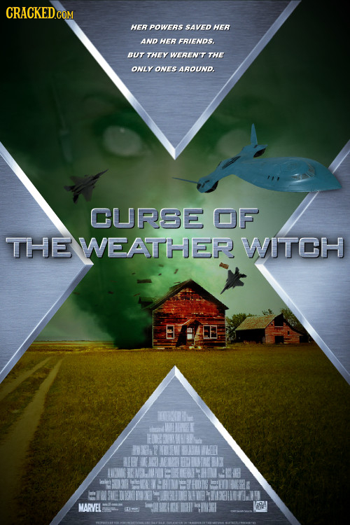 HER POWERS SAVED HER AND HER FRIENDS. BUT THEY WEREN'T THE ONLY ONES AROUND. CURSE OF THE WEATHER WITCH FOI LVRUG MARVEL