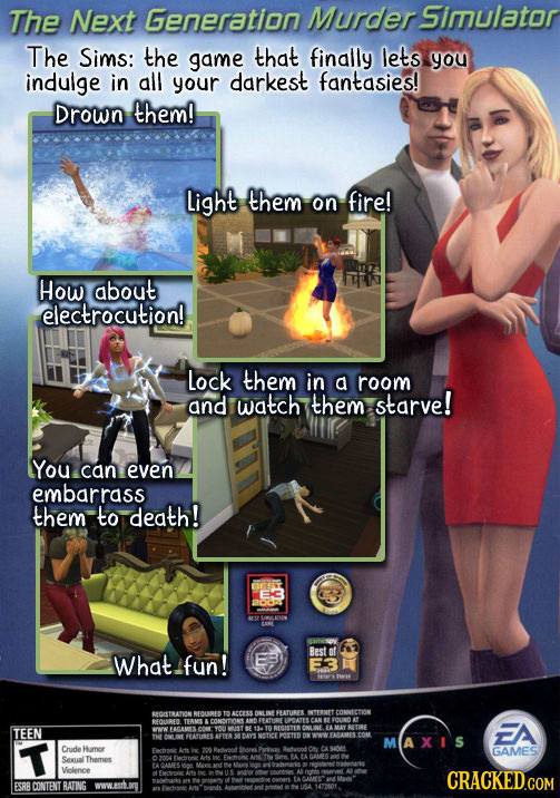 21 Video Game Ads And Packages That Tell The Painful Truth